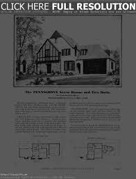 tudor house elevations tudor house floor plans free design modern figure0754 hahnow in
