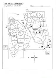 Arlington Cemetery Map Oak Ridge Cemetery Springfield Illinois