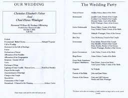 simple wedding program exles wedding reception sle finding wedding ideas