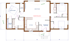 Floor Plans House 16 Cool Open Floor Plan Farmhouse Home Design Ideas