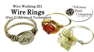 make wire rings images How to make wire rings advanced jpg