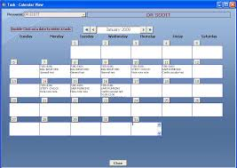 ms access scheduler template shareware version 1 21 by ms access