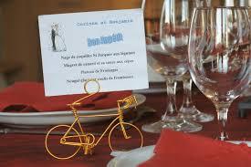 decoration table mariage theme voyage vélo miniature vélo du bonheur bruno robineau