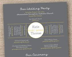 one page wedding program classic wedding ceremony programs traditional ceremony program