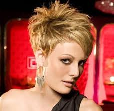 asymmetrical hairstyles for older women asymmetrical haircuts for older women highlighted short blonde