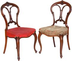 Antique Furniture Antique Furniture Pair Of Antique Victorian Balloon Back Chairs