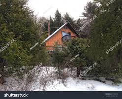 a frame chalet aframe cabin woods stock photo 564742486 shutterstock