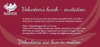 lunch invitation volunteers lunch invitation glasshouse christian college