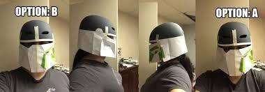 liz u0027s mandoc helmet wip pic heavy