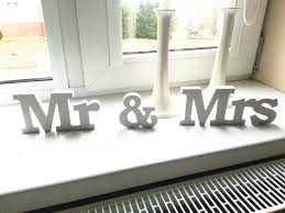 mr and mrs wedding signs hot wedding reception sign solid wooden letters mr mrs table