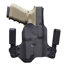 iwb light bearing holster amazon com blackpoint tactical mini wing light mounted iwb holster