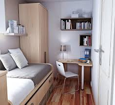Small Bedroom Decor Ideas Small Bedroom Design With Desk Brown Vintage Chest Of Drawer