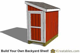 Diy Wooden Shed Plans by 4x8 Shed Plans 4x8 Storage Shed Plans Icreatables Com