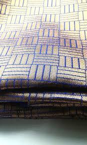Brocade Home Decor by Half Yard Brocade Saree Blue Golden Indian Silk Fabric Silk Ribbon