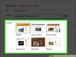 blogger com how to start a blog on blogger with pictures