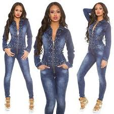 sleeve denim jumpsuit s lace up sleeve denim jumpsuit overall xs s m
