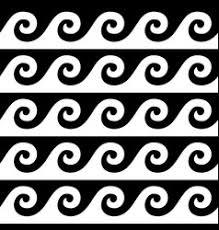 Greek Vase Design Ancient Greek Pattern Seamless Set Of Designs Vector Image