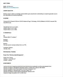 resume format for mba hr fresher pdf to excel 40 fresher resume exles