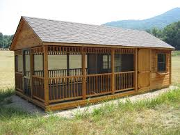 shed roof screened porch screened in patio cedar portable patio byler barns