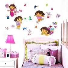 28 dora the explorer wall stickers dora the explorer wall dora the explorer wall stickers diy dora the explorer monkey vinyl wall sticker decals