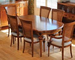 frank hudson spire oval extending table u0026 cane back chairs frank