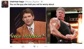 Buff Guy Meme - vince mcmahon gets buff you vs the guy she told you not to