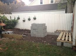 home design cinder block corner bench home builders systems the