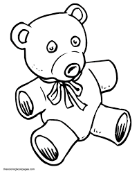 teddy bears flowers colouring pages 2 coloring
