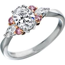 rings pink diamonds images Pink diamond engagement ring wedding promise diamond jpg