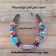 personalized horseshoe shamrockin personalized lucky horseshoe st patricks day