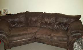 Soft Leather Sofa Brown Brushed Leather Sofa Soft In Clydach Swansea Gumtree