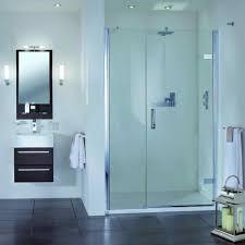 Uk Shower Doors Aqata Spectra Hinged Shower Door Inline Panel Sp457 Recess