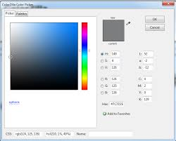 how can i find out what rgb colors a website uses graphic