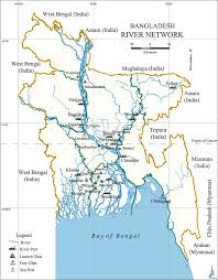India River Map by River Transport Map Of Bangladesh