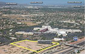 chandler fashion center map hines planning 150 million mixed use project near chandler