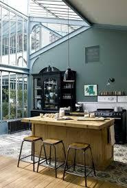 sol cuisine ouverte verrière toit véranda pour la grande cuisine ouverte