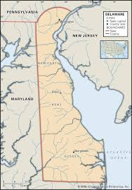 map of county state and county maps of delaware