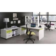 bureau chene clair armoire de bureau basse 2 portes blanc chêne clair ineo achat