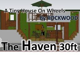 the haven 30 ft tiny house 2 bedrooms large bedroom with closet
