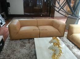 Leather Sofa Furniture Classic Leather Sofa Furniture Villa Hotel Reception Sofa Bt3031