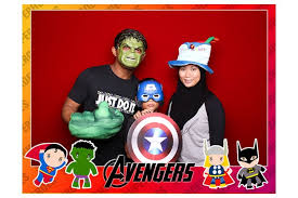Superhero Photo Booth Kids Party Photo Booth Service Instantly Sg Photobooth Singapore