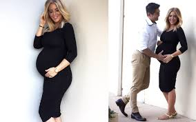 pregnancy fashion fashion bump styling with pea in a pod she is