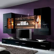 Wohnzimmer Einrichten Mit Schwarzer Couch Schwarze Wohnwand Angenehm Auf Wohnzimmer Ideen Mit 17 Best Ideas