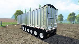 semi trailer truck six axle semi trailer truck v2 0 for farming simulator 2015
