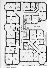 motel floor plans planning the plumbing for hotel buildings