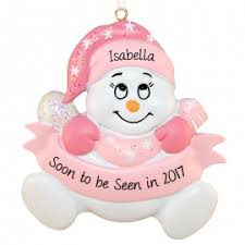 expecting baby ornaments personalized ornaments for you