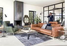 h et h canapé un canapé heth en cuir pour un intérieur design abitare living