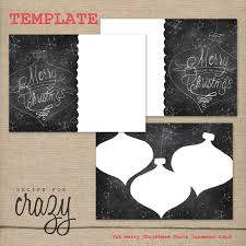 recipe for crazy blog christmas card templates for photographers