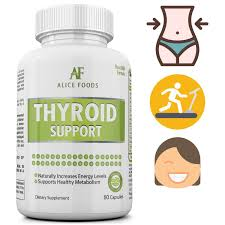 amazon com best thyroid support supplement with iodine