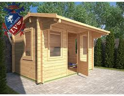 wooden log cabin timber log cabins flat pack garden offices summer houses